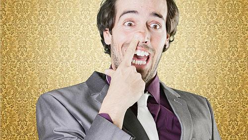 dita nel naso - Odio mio fratello