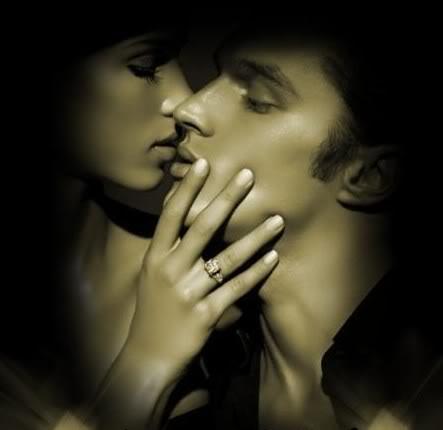 image bacio sulla guancia - Amore...