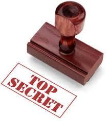 image top secret - segreti segreti segreti
