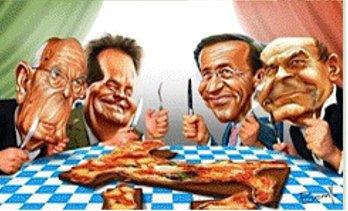 politici papponi - Odio la politica