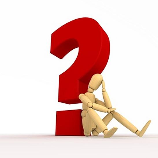 punto interrogativo 1 - Torno per sfogarmi